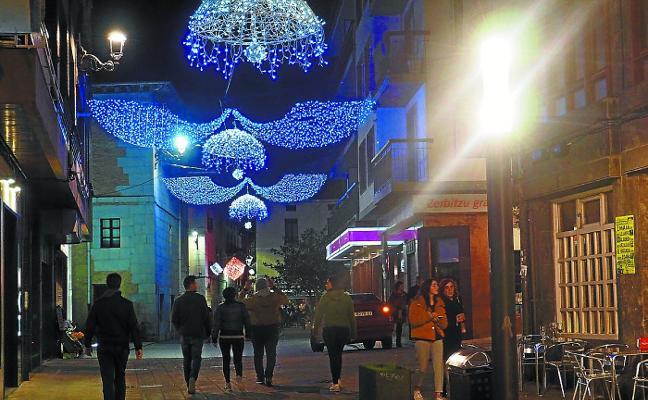 Elgoibar destina 22.040 euros a la iluminación navideña de las calles