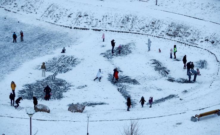 Invierno en Minsk