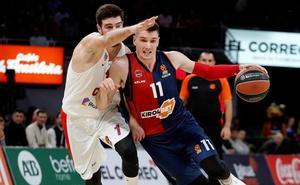 El Baskonia revive tras ganar al CSKA en un duelo igualado