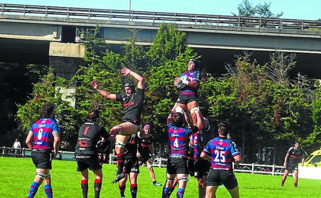 El Bathco Rugby Club de Santander, rival del Babyauto esta tarde en Asti