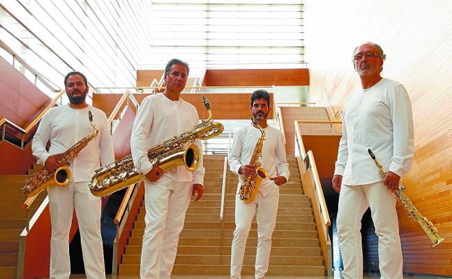 La gira internacional del cuarteto Sigma Project llega a Irun mañana