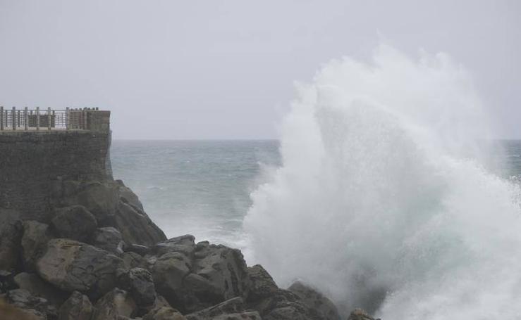 Espectáculo de olas