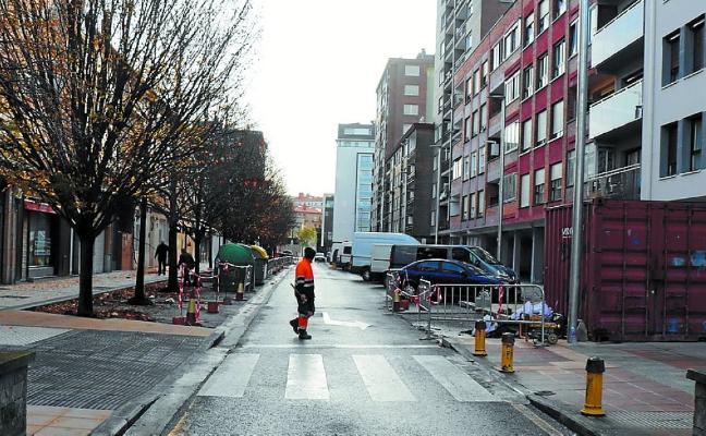 Desde hoy habrá cortes de tráfico en Uistin kalea por obras de asfaltado