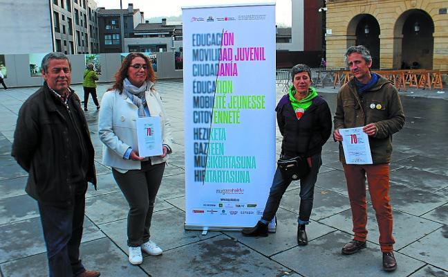 Irun reivindica hoy los derechos humanos con una actuación artística