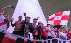River Plate: 10.000 km separan la misma celebración