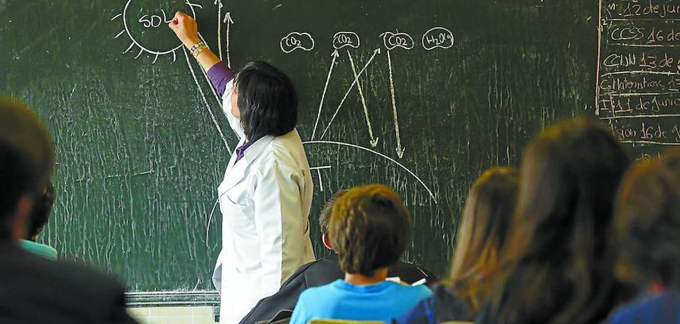 Euskadi afronta el reto de relevar a la mitad de los profesores, que se jubilan en una década
