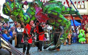 La Feria Medieval se asienta en Zarautz
