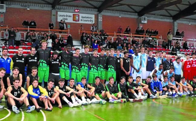Galicia venció en el cuadrangular cadete masculino de baloncesto con 3 victorias