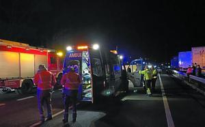 El fallecido en el accidente de Doneztebe era vecino de Bera