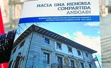 El informe sobre la memoria de Andoain se presenta esta tarde