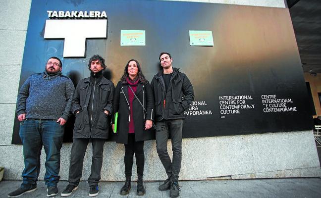 La huelga de trabajadores de Ubik en Navidad sacude uno de los emblemas de Tabakalera