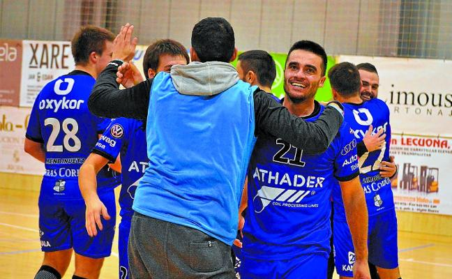 Tolosa CF Eskubaloia sigue su gran racha y ve cerca la fase de ascenso