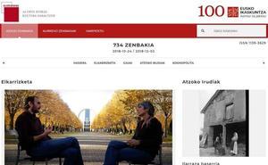 Eusko Ikaskuntzak aldizkari digitala gaurkotu du