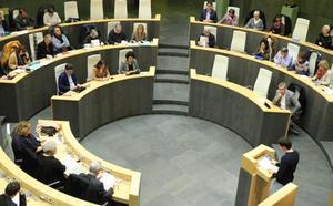 Las cuentas de Gipuzkoa siguen su tramitación tras ser rechazadas las enmiendas a la totalidad de la oposición