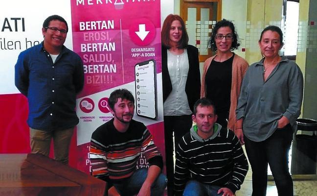 Concurso de preguntas de la app Merkatari