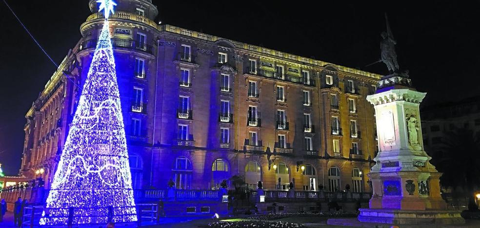 Olentzero y Papá Noel llegan este fin de semana a San Sebastián