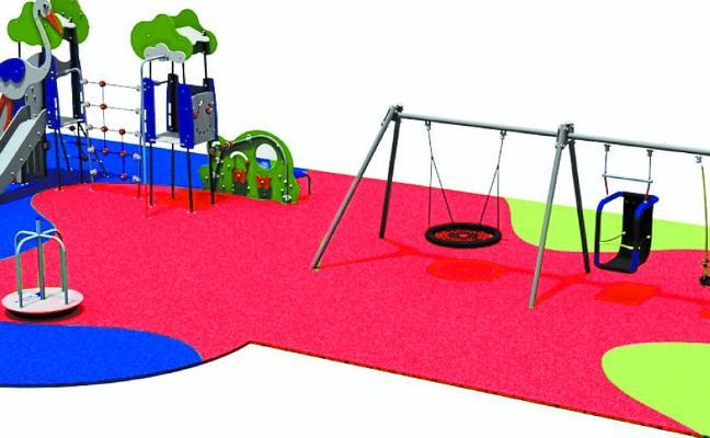 Nuevo parque de juegos infantiles en Beheko Plaza