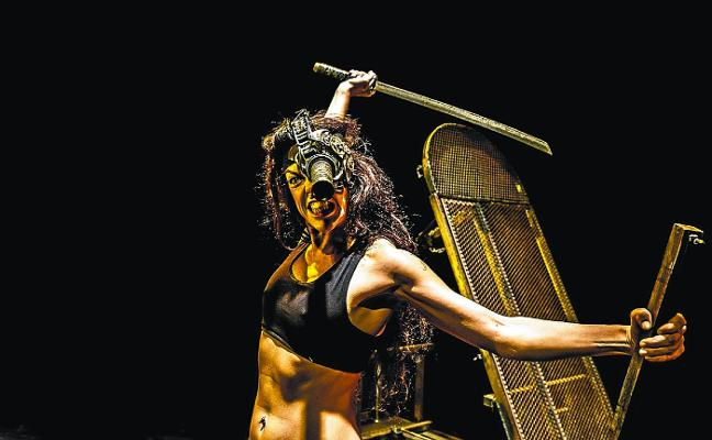 Espectáculos de Atx Teatroa, mañana, y Markeliñe, el domingo, en el auditorio