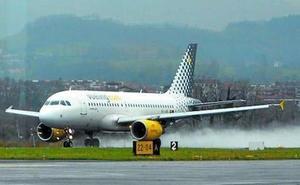 El volumen de pasajeros cae un 12% en noviembre en el aeropuerto de Hondarribia