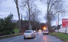 Tres jóvenes mueren en Urrugne al chocar su coche con un camión