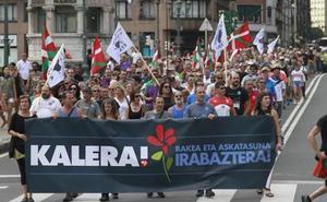 La izquierda abertzale convoca marchas en Navidades por los presos de ETA