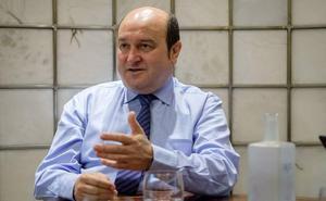Ortuzar responsabiliza a la «división interna» de EH Bildu del fracaso presupuestario