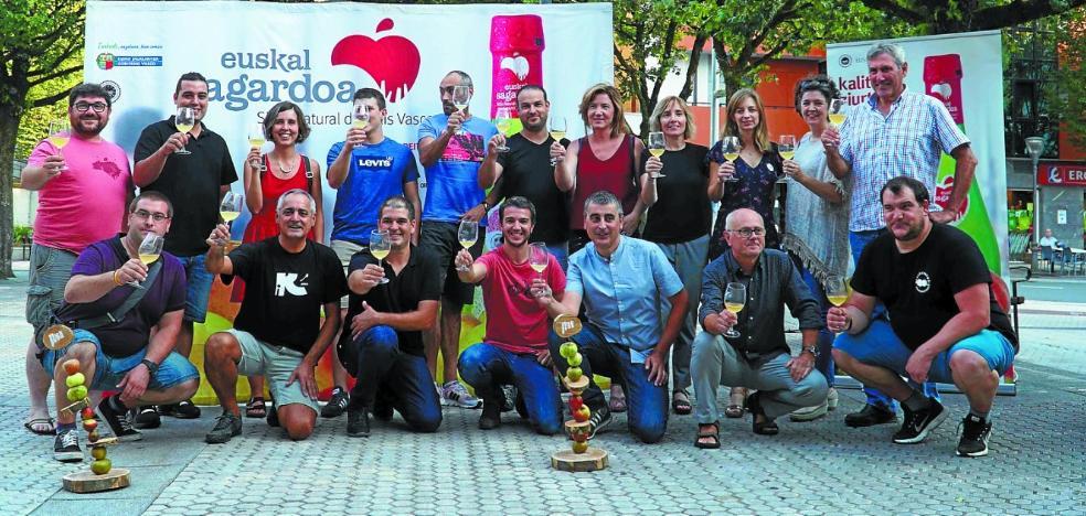 Esta tarde finaliza la campaña 'Egin zotz!' de Euskal Sagardoa