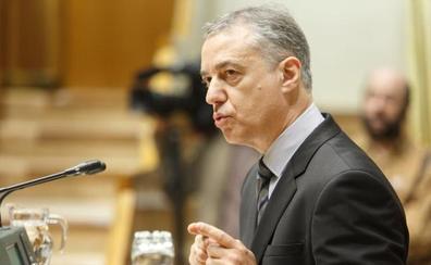 Urkullu critica que EH Bildu ha obstaculizado que «miles de pensionistas» cobren 100 euros más al mes