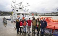 El 'Aita Mari' zarpará la primera quincena de enero rumbo al Mediterráneo