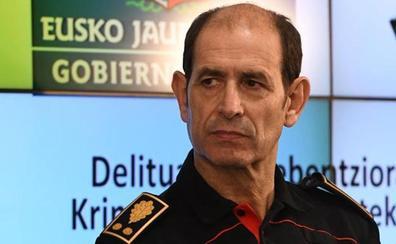 El jefe de la Ertzaintza, Jorge Aldekoa, presenta su dimisión por el 'caso Cabacas'