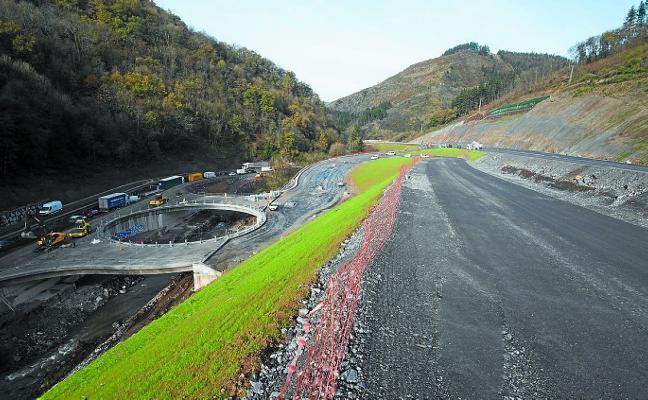 Una segunda rotonda en Bonbulu completará el enlace de la autovía de Igeribarerrota