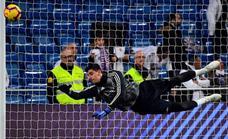 Courtois tilda a Simeone de «populista» por sus críticas al Madrid