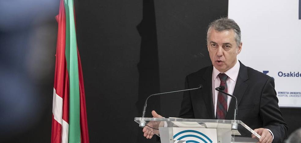 Urkullu llama al PNV a cerrar filas ante la «alianza del no» de EH Bildu, E-Podemos y PP