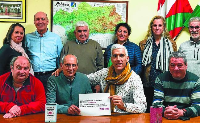Aspanogi recoge un abrazo de solidaridad de los andoaindarras