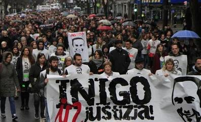 La plataforma Iñigo Cabacas exige la dimisión de la consejera de Seguridad