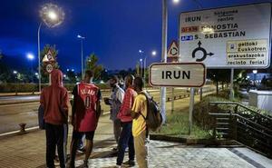 Llaman a concentrarse este lunes en Irun y Hendaia en defensa de los derechos de los migrantes
