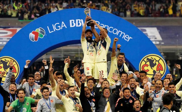 El América, campeón del torneo Apertura en México