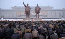 Séptimo aniversario de la muerte de Kim Jong II