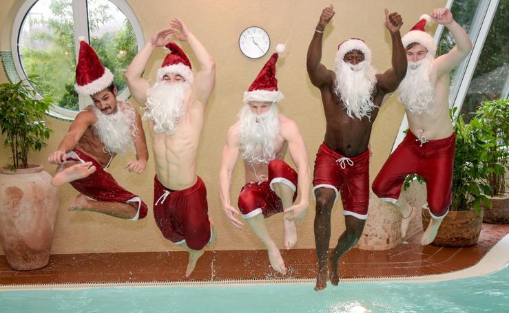 El Fitness más navideño