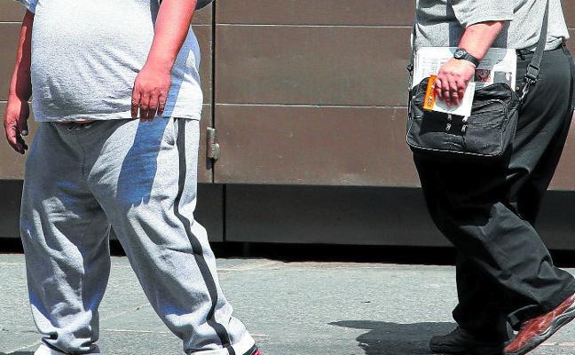 Los vascos con menos recursos sufren más problemas de obesidad y salud mental