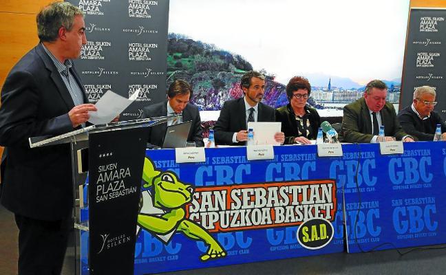El Gipuzkoa Basket mira al futuro con cierto optimismo al rebajar su deuda