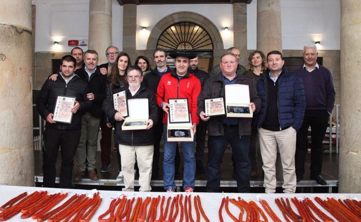 Concurso de la mejor txistorra de Euskal Herria en Ordizia