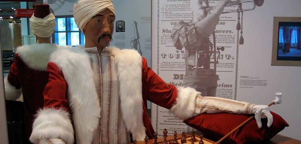 El autómata ajedrecista y 'tramposo' del siglo XVIII