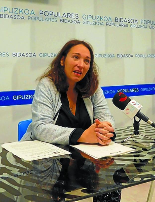 Muriel Larrea. /  F. DE LA HERA
