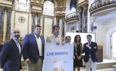 'Love San Sebastián. Live Donostia', finalista de los premios de la OMT