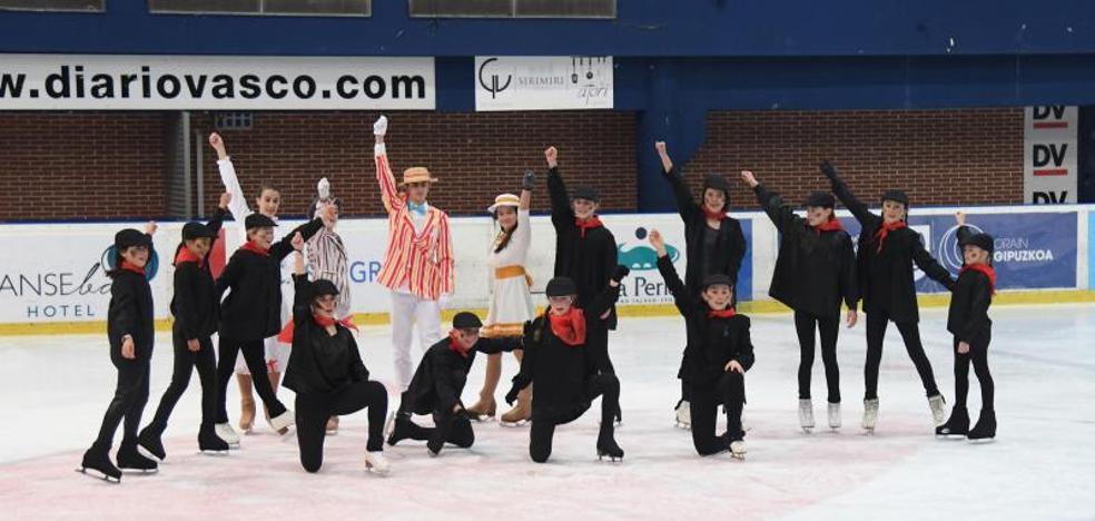 Mary Poppins sobre el hielo