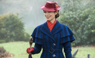 Mary Poppins compite contra Spiderman y Aquaman en los cines