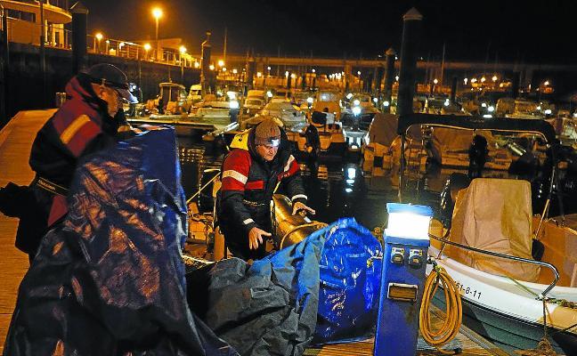 La pesca de la angula, con los días contados