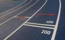 El récord de Gipuzkoa de 400 metros tiene los días contados