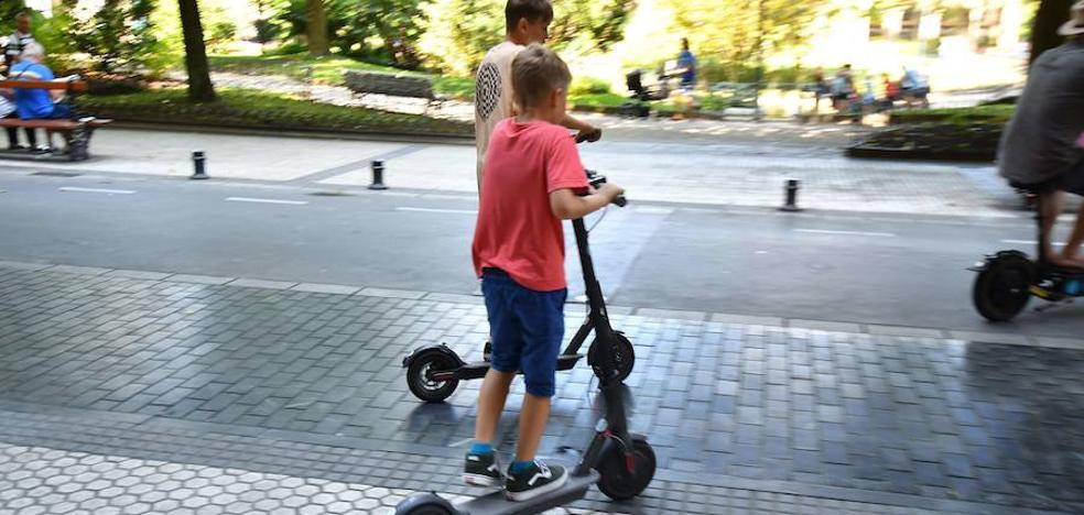San Sebastián limita la circulación de los patinetes con motor